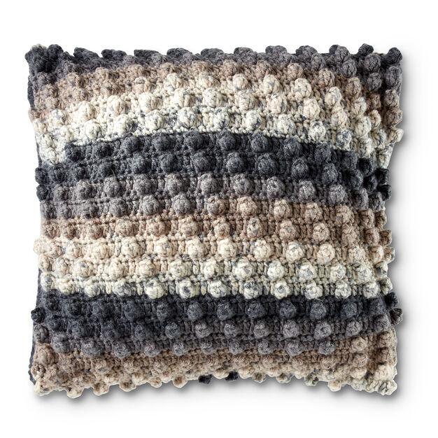 Caron Crochet Popcorn Pillow Pattern Yarnspirations