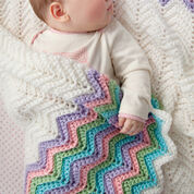 Go to Product: Red Heart Rickrack Rainbow Baby Blanket in color