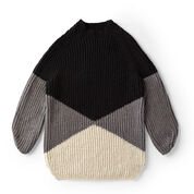 Go to Product: Red Heart Bold Angles Knit Pullover, XS/S in color