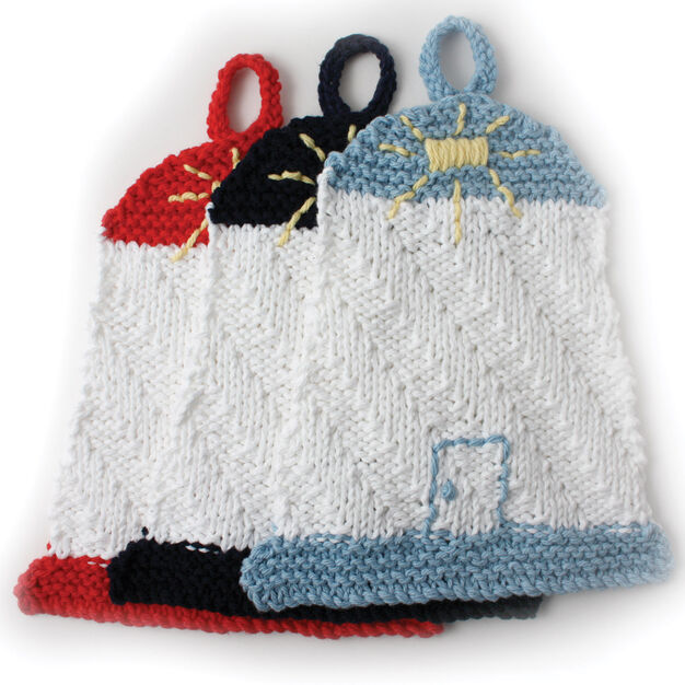 Lily Sugar'n Cream Lighthouse Dishcloth