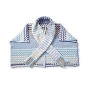 Bernat Color Weave Crochet Wrap