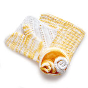 Bernat Knit Spa Day Kit, Bath Mitt