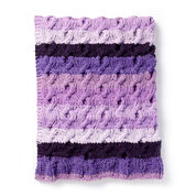Go to Product: Bernat Fading Cables Knit Blanket in color