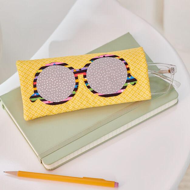 Dual Duty Sun Shades Eyeglass Case in color