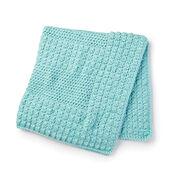 Bernat Textured Crochet Baby Blanket
