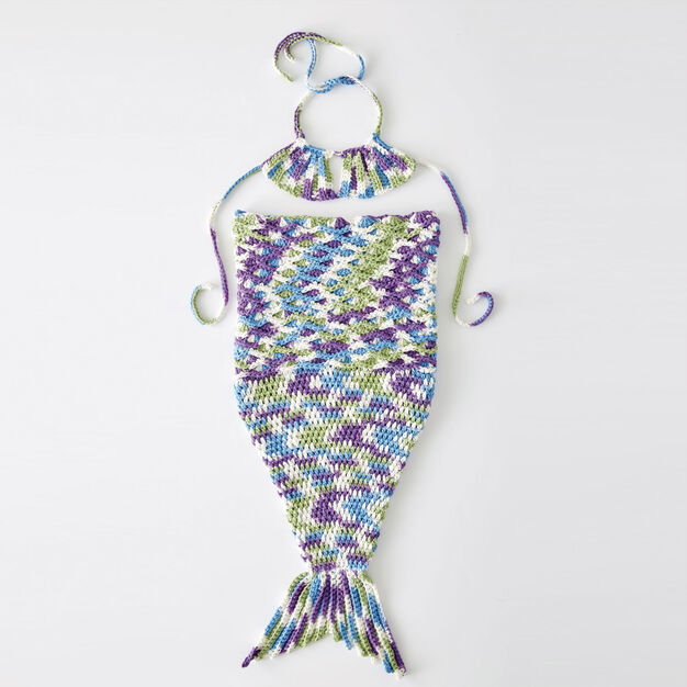Bernat Wee Mermaid Crochet Costume