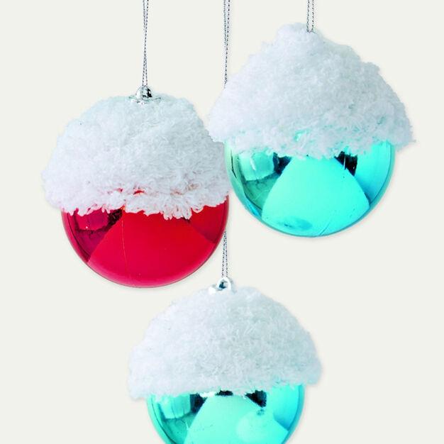 Bernat Snow Capped Ornament in color