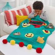 Go to Product: Red Heart Emoji Snuggle Sack, Child in color