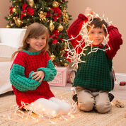 Red Heart Jolly Kid's Sweaters, 4 yrs