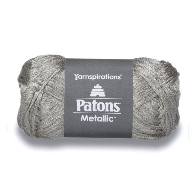 Patons Metallic Yarn Metallic Platinum Yarnspirations