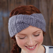 Bernat Twisted Step-Sister Headband