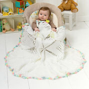 Go to Product: Red Heart Doily Baby Blanket in color