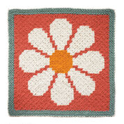 Go to Product: Bernat Daisy C2C Crochet Blanket in color