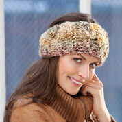 Red Heart Perfectly Easy Ear Warmer