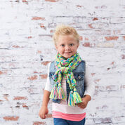 Go to Product: Red Heart Kid's Knit Drop-Stitch Scarf in color