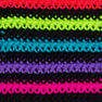 Red Heart Super Saver Yarn, Neon Stripes in color Neon Stripes