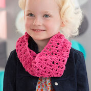 Red Heart Kiddo's Crochet Cowl