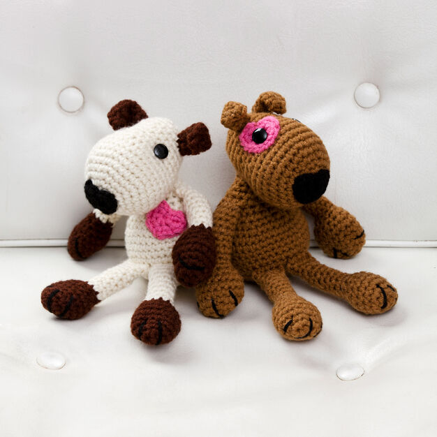 Red Heart Puppy Love Toys