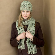 Go to Product: Red Heart Crochet Squares Hat & Scarf in color