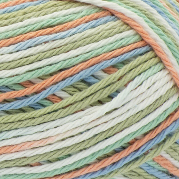 Lily Sugar'n Cream Ombres Yarn, Stoneware Ombre in color Stoneware Ombre