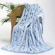 Go to Product: Caron Spirals Throw in color