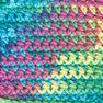 Bernat Handicrafter Cotton Ombres Yarn, Psychedelic Ombre in color Psychedelic Ombre