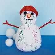 Bernat Snowman to Knit