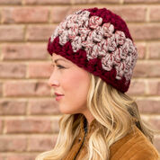 Red Heart Granny Stitch Hat, S