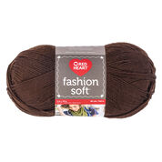 Go to Product: Red Heart Fashion Soft Yarn in color Chocolate