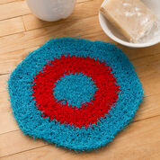 Go to Product: Red Heart Hexagon Crochet Dishcloth in color