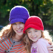 Go to Product: Red Heart Brimming With Love Hats, Child in color