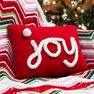 Red Heart Holiday JOY Pillow