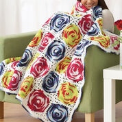 Go to Product: Bernat Circles Throw in color