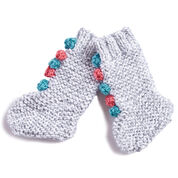 Go to Product: Bernat Knit Baby Circus Socks in color