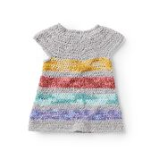 Go to Product: Bernat Crochet Rainbow Jumper Dress, 6 mos in color