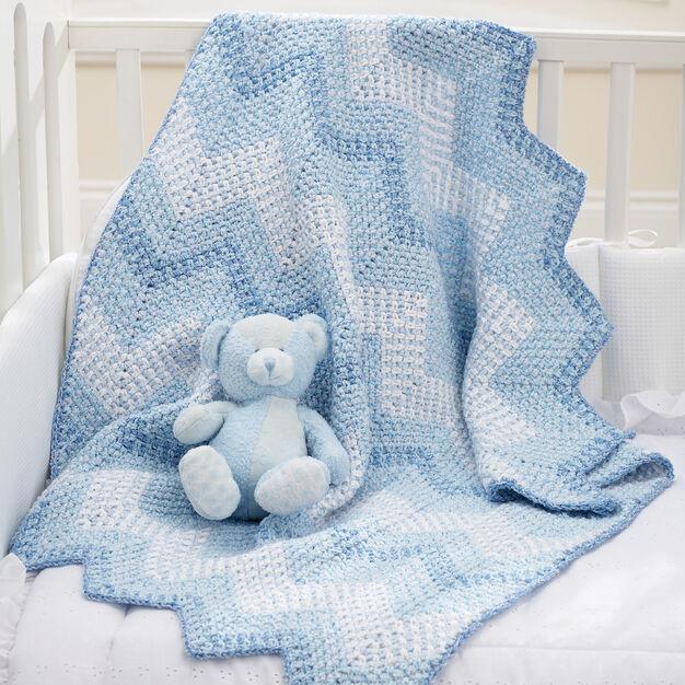 Bernat Cascading Ripples Blanket