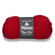Go to Product: Patons Classic Wool Roving Yarn in color Cherry