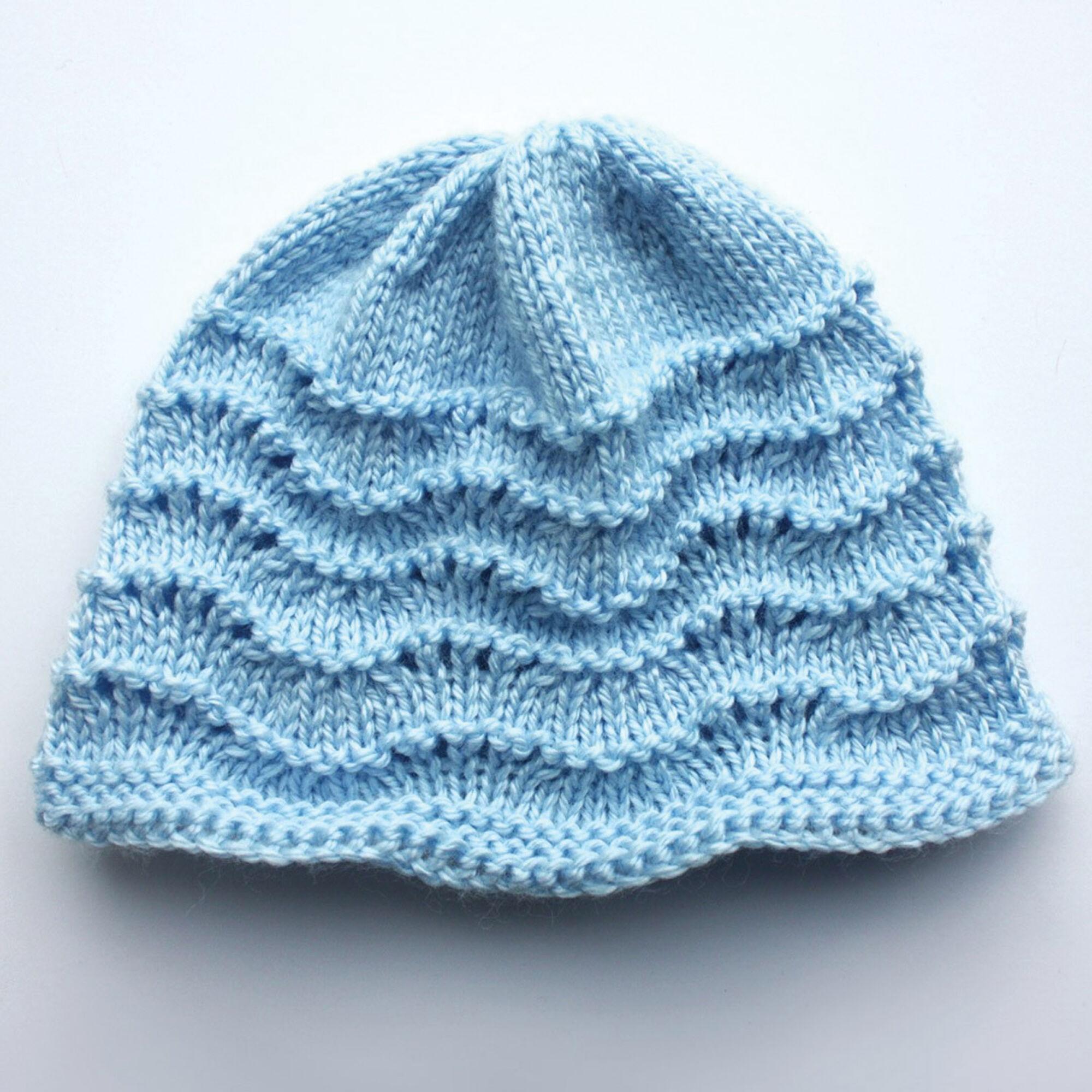 26e6ac525dc85 Bernat Knit Baby Hat, Pink - Preemie   Yarnspirations