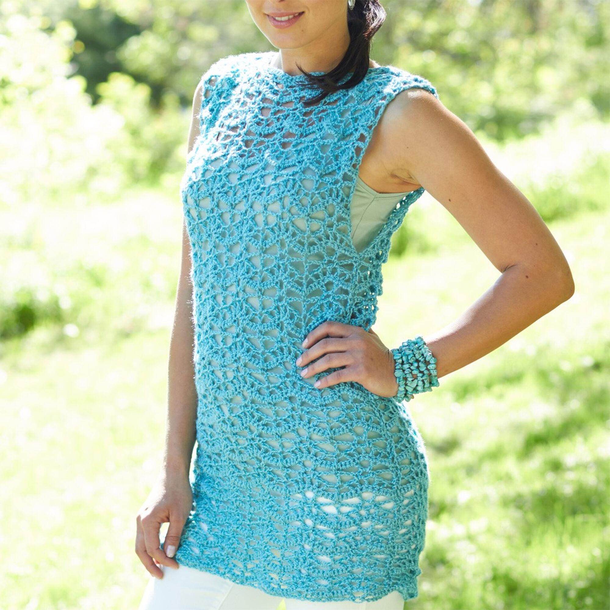 Caron Crochet Tunic, S Pattern | Yarnspirations