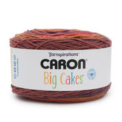 Caron Big Cakes Yarn, Cranberry Crisp