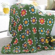 Bernat Field of Flowers Blanket
