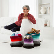 Go to Product: Red Heart Ombré Crochet Baskets, S in color