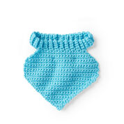 Go to Product: Red Heart Crochet Baby Bibs, Blue in color