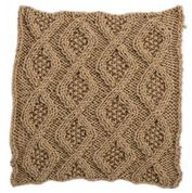 Go to Product: Red Heart Seed Stitch Diamonds Square for Knit Your Cables Afghan in color