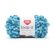 Go to Product: Red Heart Loop-It Yarn (100 g/3.5 oz) in color I Blue It