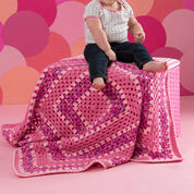 Go to Product: Red Heart Make it Pink Blanket in color