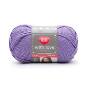 Go to Product: Red Heart With Love Chunky Yarn in color Lilac