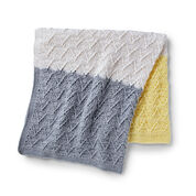 Go to Product: Bernat Crochet Colorbands Baby Blanket in color