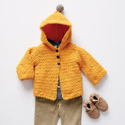 Bernat Elfin Crochet Cardigan, 6 mos