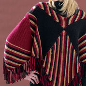 Go to Product: Bernat 60's Squares Poncho, XS-XL in color